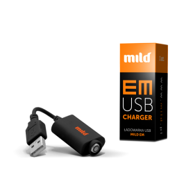 USB charger for MILD EM e-cigarettes